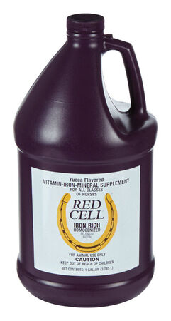 Red Cell 1 gal. Microbial Supplement For Horse