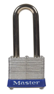 Master Lock 1-9/16 in. Double Locking Laminated Steel Padlock
