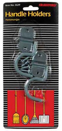 Crawford Handle Holder Steel 2 pk