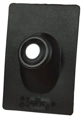 Oatey No-Calk Plastic Roof Flashing Black 12-7/8 in. H x 13 in. L x 9-1/4 in. W Roof
