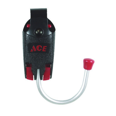 Ace Black Metal/Aluminium Tool Hook 2 in. H