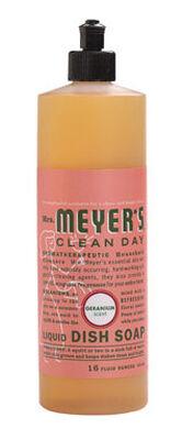 Mrs. Meyer's 16 oz. Geranium Scent Liquid Dish Soap