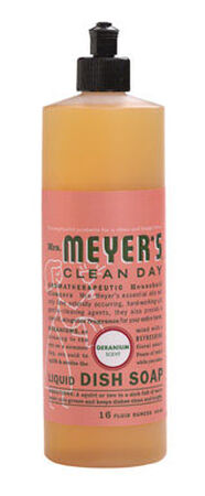 Mrs. Meyer's 16 oz. Geranium Scent Liquid Dish Soap