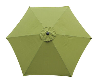 Living Accents 9 ft. Dia. Tiltable Patio Umbrella Sage