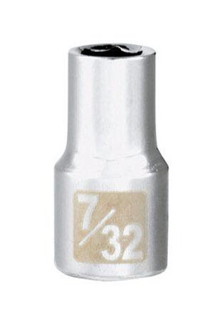 Craftsman 7/32 Alloy Steel 1/4 in. Drive in. drive Socket Standard