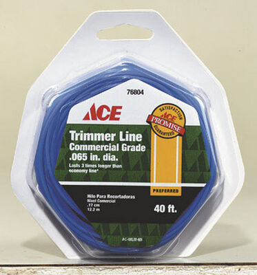 Ace Commercial Trimmer Line 0.065 in. Dia. x 40 ft. L 2 refill