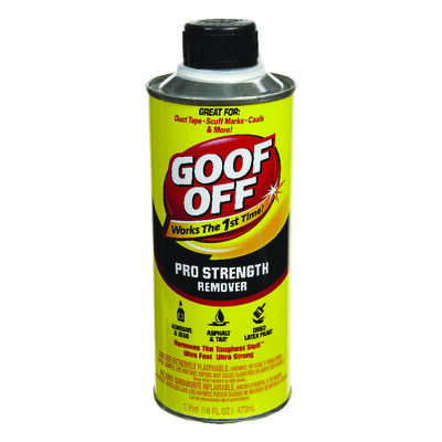 Goof Off Pro Strength Remover 1 pt.