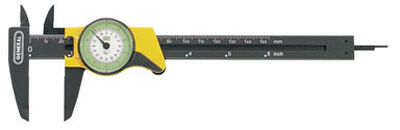 General Tools Dial Caliper 3-1/4 in. W x 6 in. L Plastic