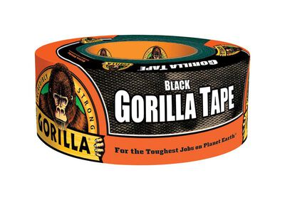 Gorilla Duct Tape 1.88 in. W x 12 yd. L Black