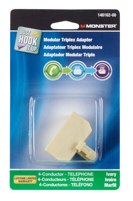 Monster Cable Triplex Adapter