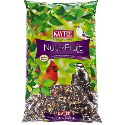 Kaytee Nut & Fruit Assorted Species Wild Bird Food Fruits and Nuts 10 lb.