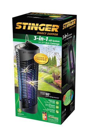 Stinger 3-in-1 Insect Zapper 1-1/2 acre For Flying Insects
