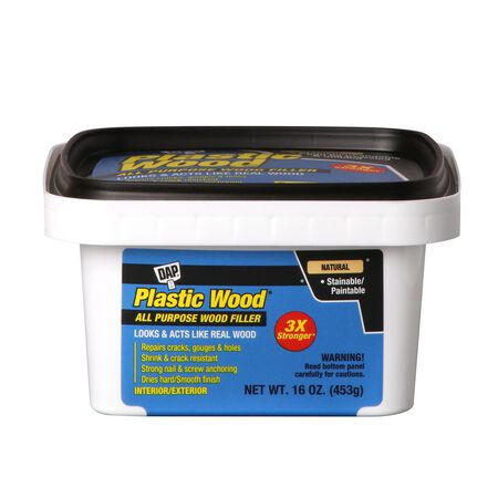 DAP Plastic Wood Natural Wood Filler 16 oz.