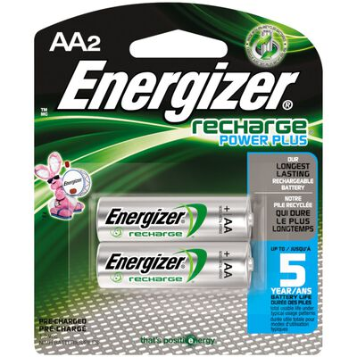 Energizer NiMH AA 1.2 volts Rechargeable Batteries NH15BP-2