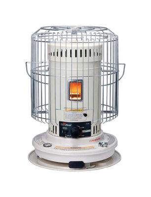 Heat Mate Kerosene Convection Heater 1 000 sq. ft. White