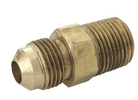 Magne Flo 3/8 in. Dia. x 3/8 in. Dia. Flare To MPT Brass Connector