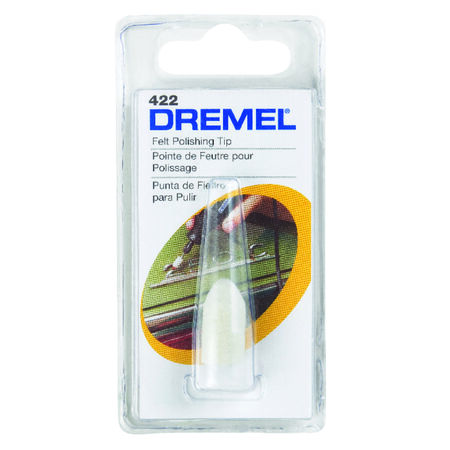 Dremel Metal Felt Polishing Tip 1 pk