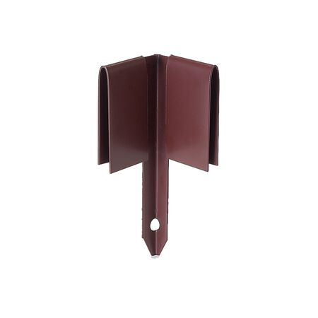 8 in brown steel Corner Edging Stake
