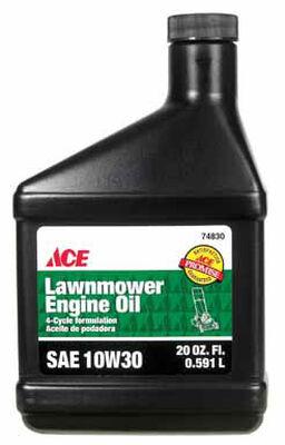 Ace SAE 10W30 4 Cycle Engine Lawnmower Oil 20 oz.