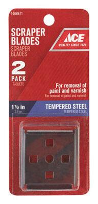 Ace Tempered Steel Scraper Blade 1-1/2 in. W