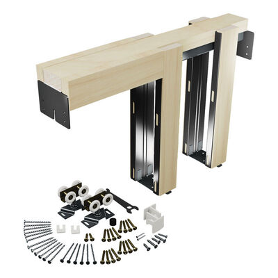 Prime-Line Side mount Pocket Door Frame Kit 1 pk