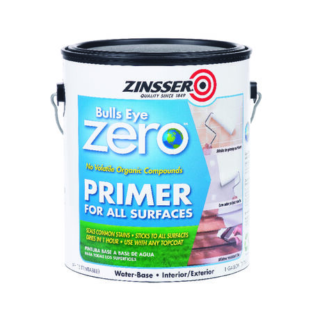 Zinsser Bulls Eye Zero White Smooth Water-Based Acrylic Primer and Sealer 1 gal.