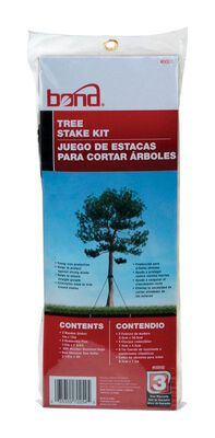 Bond Manufacturing Plastic Tree Stakes 15 in. H