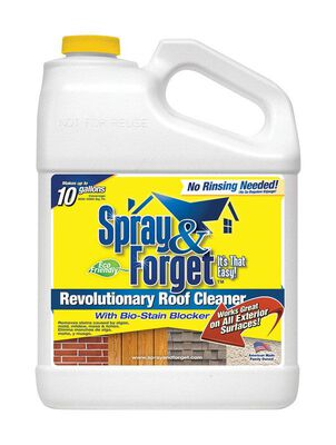 Spray & Forget Roof Cleaner Concentrate Bottle 1 gal.
