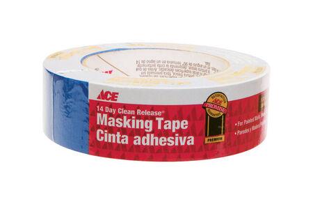 Ace 1.41 in. W x 60 yd. L General Purpose Painter's Tape Regular Strength Blue 1 pk