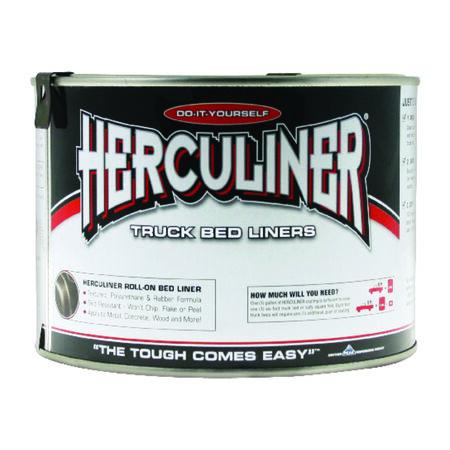 Herculiner Black Truck Bed Coating 1 qt.