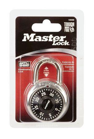 Master Lock 1-1/2 in. Anti-Shim Technology Steel Combination Padlock