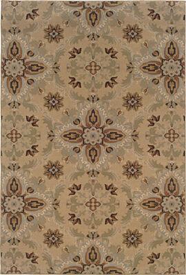 "Oriental Weavers 2313A Ariana Gold 5' 3"" X 7' 9"" Area Rug"