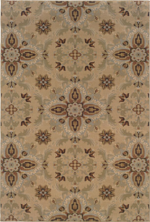 "Oriental Weavers 2313A Ariana Gold 5' 3"" X 7' 9"" Area Rug"