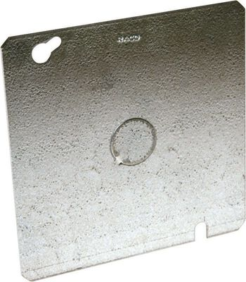 Raco Square Steel Blank Box Cover For Use to Close an Outlet Box or Mount a Device