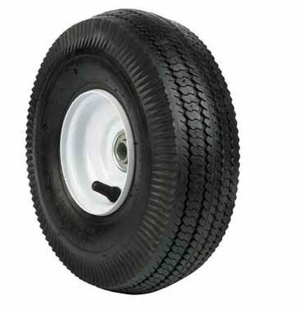 Arnold Wheelbarrow Tire 10 in. Dia. 350 Ib lb. Butyl Rubber