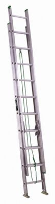 16 ft Louisville AE4216 Aluminum Extension Ladder, Type II, 225 lb Load Capacity
