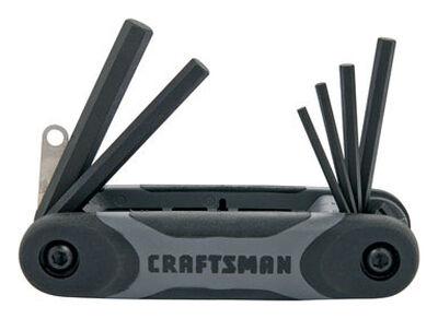 Craftsman Fold-Up Metric Hex Key Set 8 pc.