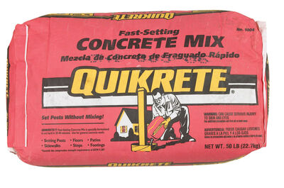 60# FAST-SETTING CONCRETE MIX