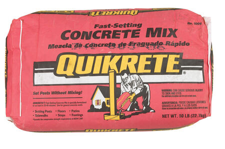 50lb FAST-SETTING CONCRETE MIX