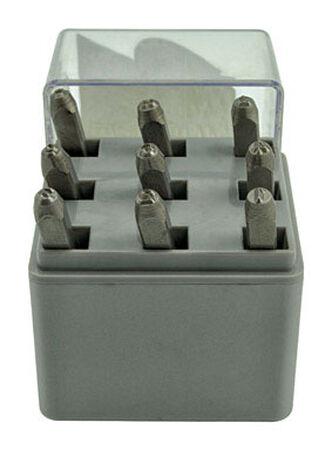 C.H. Hanson 1/8 in. Steel Number Stamp Set 0-9