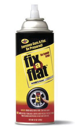 Fix-A-Flat Compact Tire 12 oz. Inflator and Sealer