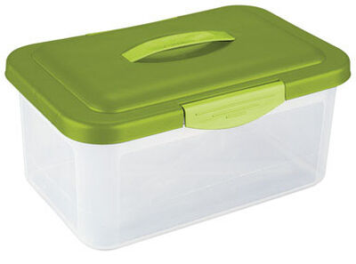 Sterilite Storage Box 7.125 in. H x 9.75 in. W x 15.25 in. D