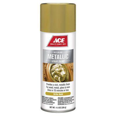 Ace Bright Gold Metallic Spray Paint 11.5 oz.
