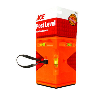 Ace Plastic Post Level 9 in. L