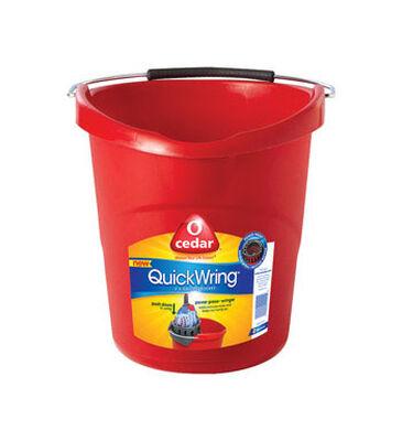 O-Cedar 2-1/2 gal. Wringer Bucket Red