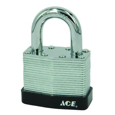 Ace 1-9/16 in. Double Locking Steel Padlock