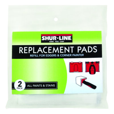 Shur-Line Trimline Edger Replacement Pads Refill 4-3/4 in. W