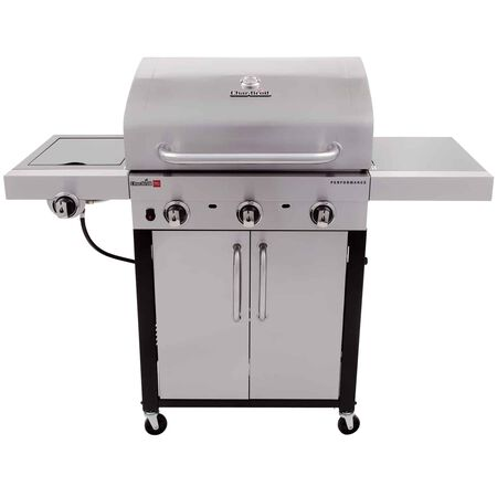 Char-Broil Performance Liquid Propane Freestanding Grill Stainless Steel 3