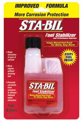 Sta-Bil Storage Fuel Stabilizer 4 oz.