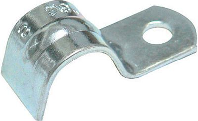 Sigma 3/8 in. Galvanized steel One Hole Cable Strap 3 pk